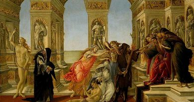 Stroj: Sandro Botticelli - King Midas with people